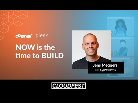Jens Meggers at CloudFest '21 | Now is the Time to Build