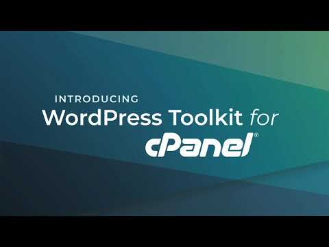 Introduction to WordPress Toolkit for cPanel