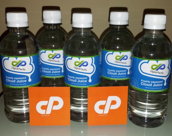 Digital Pacific Water Bottles