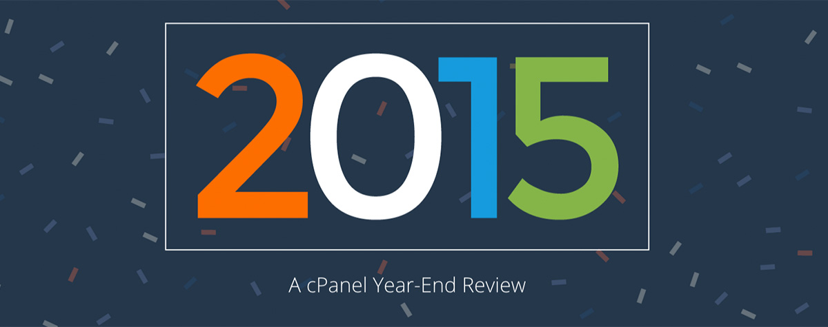 A cPanel Year-End Review: 2015