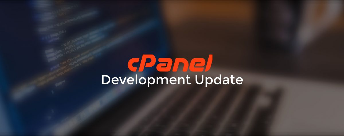 cPanel Development Update