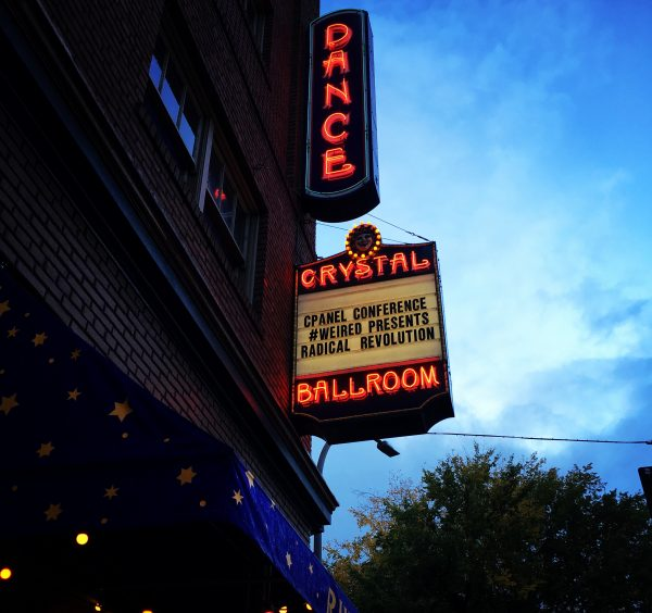 Portland's Crystal Ballroom: host of the rad 80s party at cPanel Conference