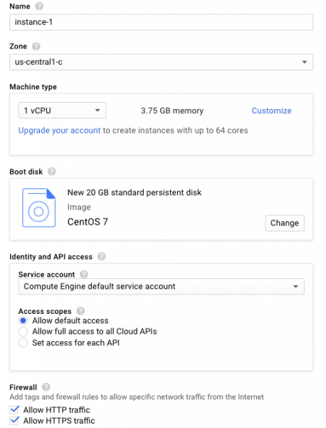 Install cPanel with Google Compute Engine | cPanel Blog
