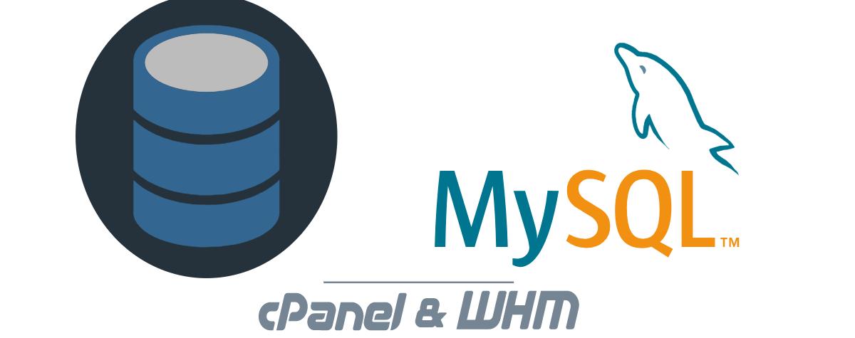 cPanel & WHM MySQL 5.7 Support