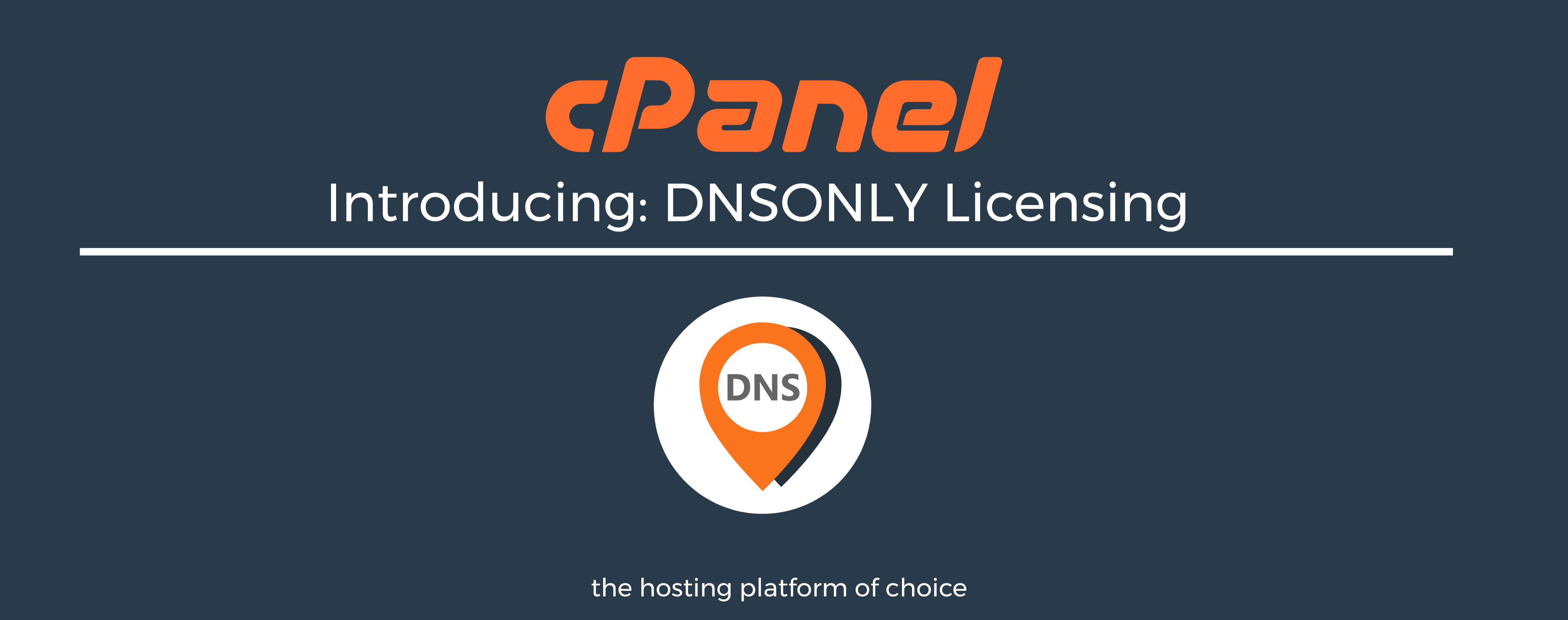 Coming Very Soon: DNSOnly Server Licenses | cPanel Blog