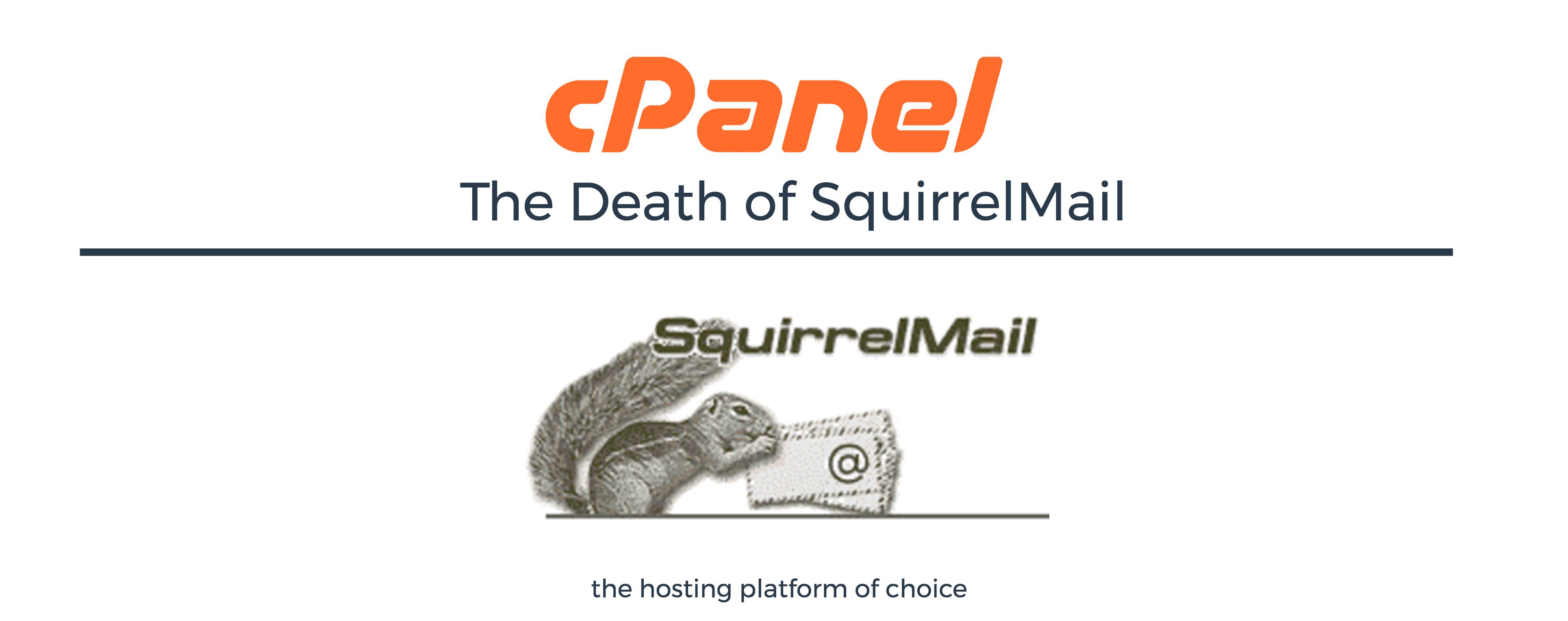 SquirrelMail EOL