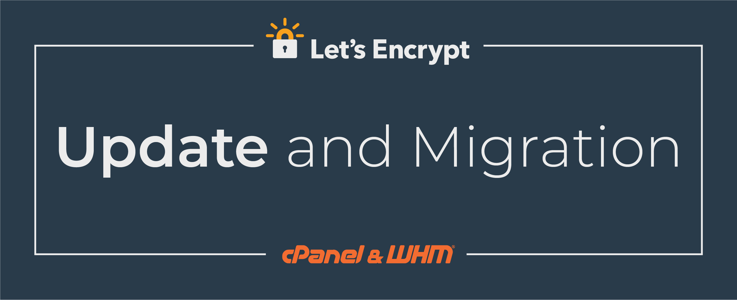Let's Encrypt Update and Migration