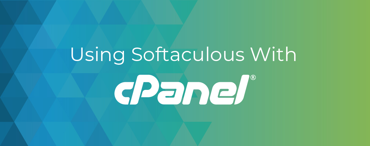 Using Softaculous With cPanel