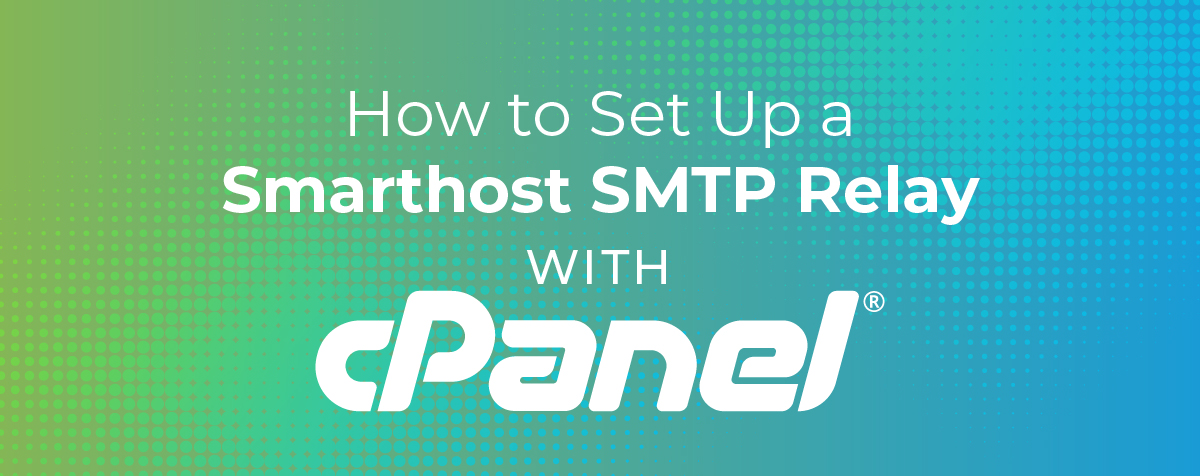 How to set up a smarthost SMTP relay