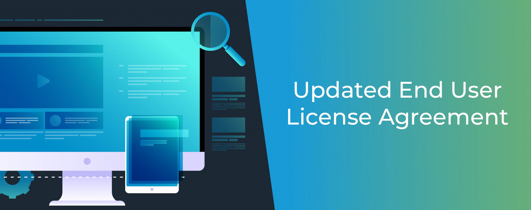 Updated End User License Agreement