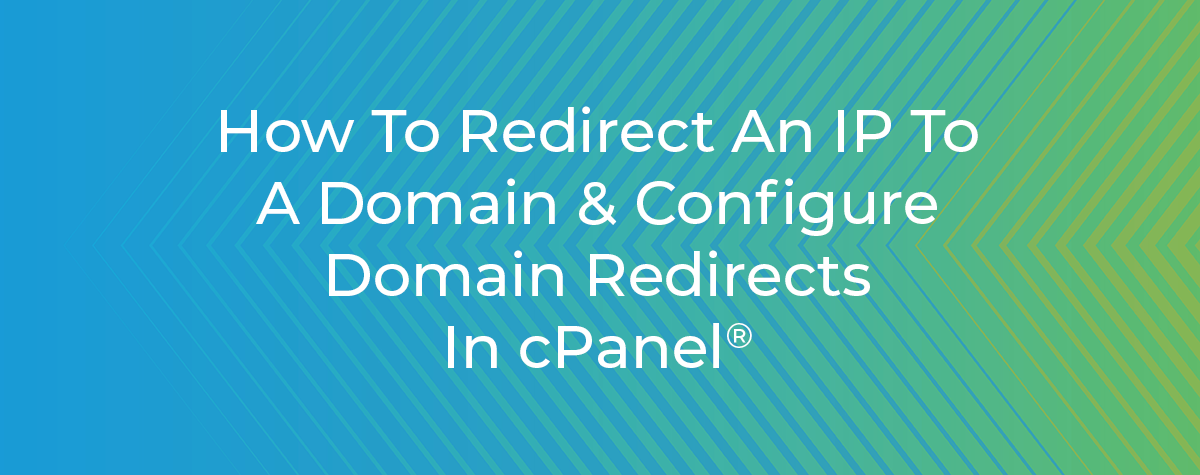 Redirects in cPanel