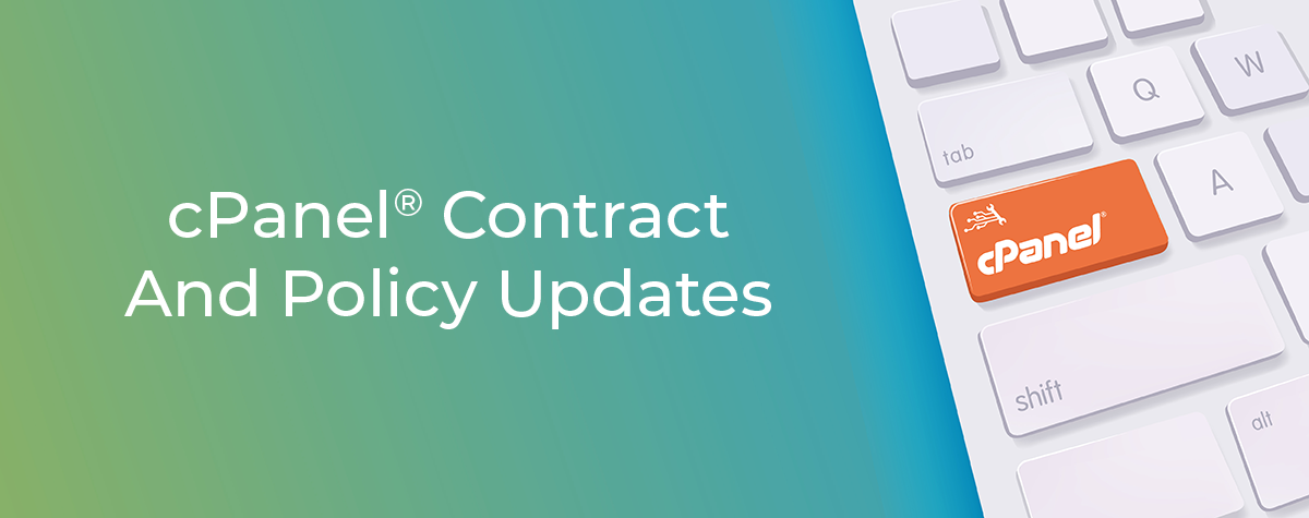 cPanel Contract Policy Updates